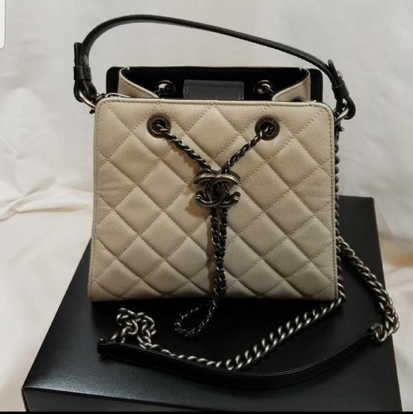 eef224f3400229 CHANEL Handbags - Authentic Chanel Accordion Bucket Bag NWOT